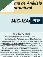 Análisis Estructural Con MIC-MAC - 15 Ene 12