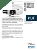 Epson EB G6050W Información de Producto