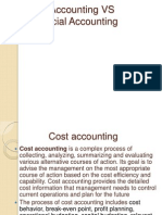 Cost Accounting vs Financial Accounting - Copy