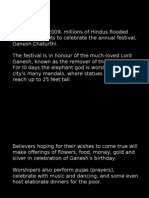 In September 2009, Millions of Hindus Flooded Mumbai's Streets To