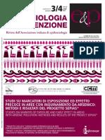 Sepias Unico - Epidemiol Prev 2014; 38 (3-4)