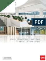 GYPROCK 544 Steel Frame Wall Systems 201201