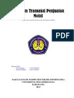 Program Transaksi Penjualan Mobil