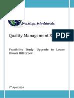 prestige worldwide - quality management system final