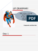 Pumped Up Grammar!