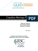 Canada Marriage Faq