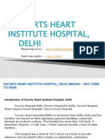 Escorts Heart Institute Hospital, Delhi Abroad – Why Come To India