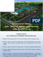 Paparan Mengenai Pengelolaan Terminal Angkutan Jalan DKI Jakarta