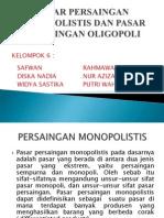 Persaingan Monopolistis,