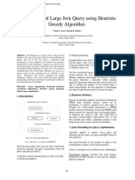 Optimization of Large Join Query Using Heuristic Greedy Algorithm