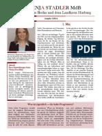 Newsletter Svenja Stadler Nr. 7/2014