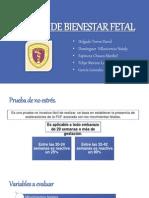 Pruebas de Bienestar Fetal