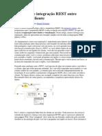 Exemplo de Integração REST Entre Servidor e Cliente