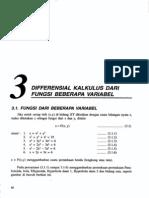 Bab3-Differensial Kalkulus Dari Fungsi Beberapa Variabel