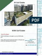 M3M Golf Estate Sector 65 Gurgaon