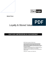 Loyalty StoredValueCards WhitePaper