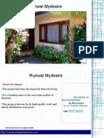 Runwal Mydesire Price List