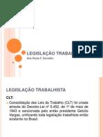 Ana Paula - Legislação Trabalhista Maio 2012