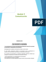 Modulo Comunicación 9