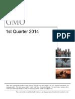 GMO Q1 2014