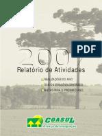 relatório coasul 2007