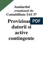 IAS Standardul International de Contabilitate IAS 37