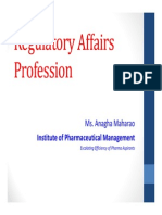 Regulatory Affairs Profession