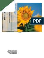 Thorax Card ANATOMY
