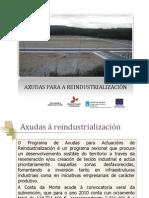 AXUDAS PARA A REINDUSTRIALIZACIÓN II