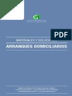 Catalogo de Productos Para Arranques Domiciliarios