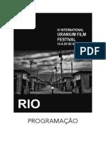 Rio de Janeiro Uranium Film Festival Programação Maio 2014