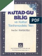 İbrahim Kafesoğlu - Kutadgu Bilig Ve Kültür Tarihimizdeki Yeri
