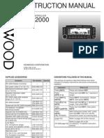 Kenwood RC-2000 Instructions Manual