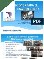 Condiciones Para El Uso de Una Biblioteca