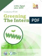 Greening the Internet, Workshop at IGF 2009