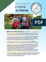 Vivere Lierna programma 2014