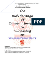 Dhrupad Sangeet in Pushtimarg