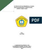Panduan Penyusunan Proposal Pmw 2014