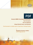 Oracle HRMS Fast Formula
