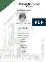 Monografia Funcion de La Hemoglobina