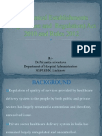 theclinicalestablishmentsregistrationandregulationact2010andrules2012-140207011620-phpapp01