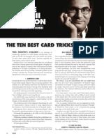 Giobbi the Ten Best Card Tricks