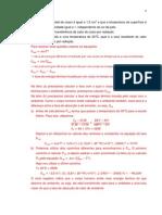 Exemplos-Radiacao e Primeira Lei Da Termodinamica