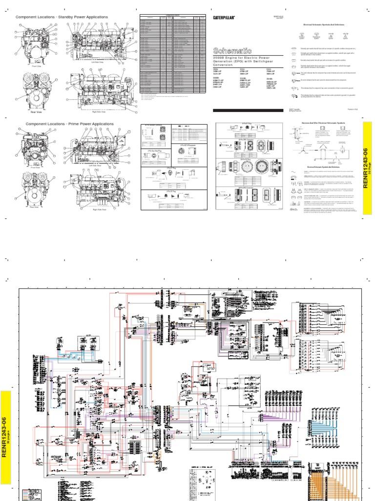 diagrama grupo electr geno 3500 b caterpillar rh scribd com Cat Diesel Power Logo Cat Diesel Power Logo