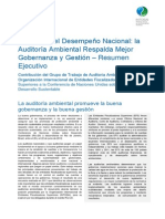 Mejorando El Desempeño Nacional Auditorí Ambiental