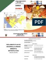 Plan de Desarrollo Urbano Ambiental de Metropoli Chiclayo 2010-2015-Reglamento_PDUA