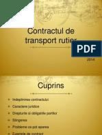 Contractul de Transport Rutier