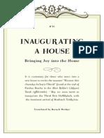Inaugurating a House