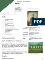 Juan Bautista Alberdi - Wikipedia, La Enciclopedia Libre