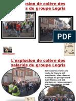 Explosion de colère des salariés de Legris